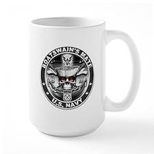 USN Boatswains Mate BM Skull Mug