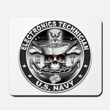 USN Electronics Technician ET Mousepad