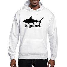 MegaShark logo Hoodie
