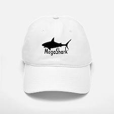 MegaShark logo Baseball Baseball Cap