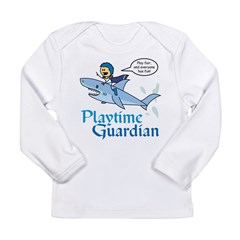 Lien: Playtime Guardian Long Sleeve Infant T-Shirt
