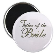 "Father of the Bride 2.25"" Magnet (10 pack)"