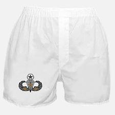 Combat Parachutist 3rd Awd Mast. B-W Boxer Shorts