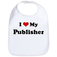 I Love Publisher Bib
