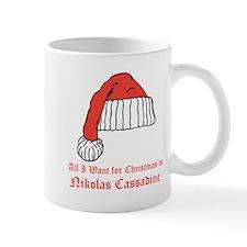 Nikolas Cassadine Holiday Mug