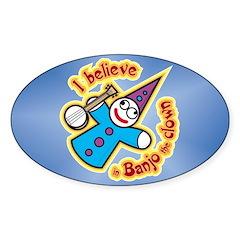 I Believe in Banjo Decal