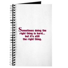 Doing the Right Thing Journal