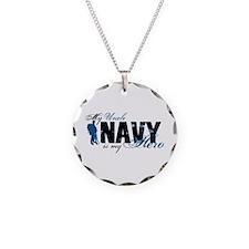 Uncle Hero3 - Navy Necklace