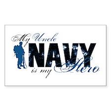 Uncle Hero3 - Navy Decal
