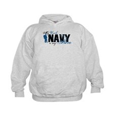 Uncle Hero3 - Navy Hoodie