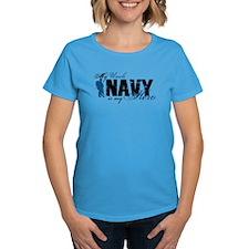 Uncle Hero3 - Navy Tee