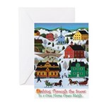 Dashing Thru the Snow Greeting Cards (Pk of 20)