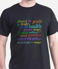 Fitness Collage T-Shirt