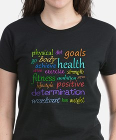 Fitness Collage Tee