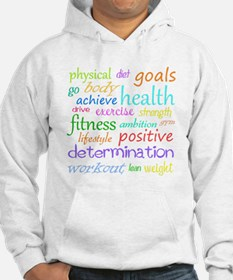 Fitness Collage Hoodie