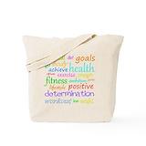 Fitness Regular Canvas Tote Bag