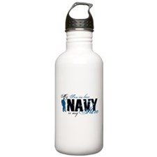 Son-in-law Hero3 - Navy Water Bottle