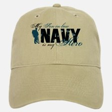 Son-in-law Hero3 - Navy Baseball Baseball Cap