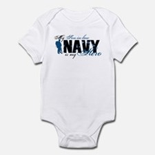 Son-in-law Hero3 - Navy Infant Bodysuit