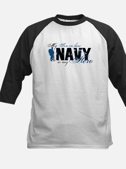 Son-in-law Hero3 - Navy Kids Baseball Jersey
