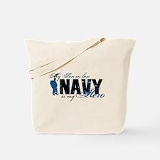 Son-in-law Hero3 - Navy Tote Bag