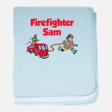 Firefighter Sam baby blanket