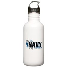 Son Hero3 - Navy Water Bottle