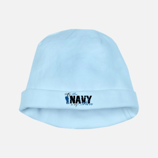 Son Hero3 - Navy baby hat