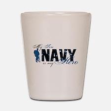 Son Hero3 - Navy Shot Glass