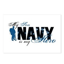 Son Hero3 - Navy Postcards (Package of 8)