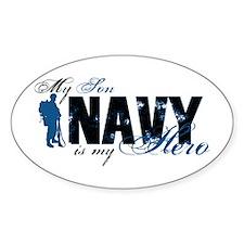 Son Hero3 - Navy Decal