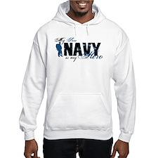 Son Hero3 - Navy Jumper Hoody