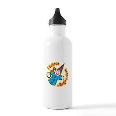 I Believe in Banjo Water Bottle