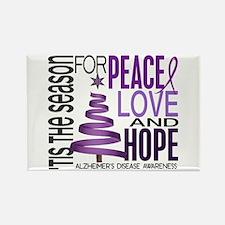 Christmas 1 Alzheimer's Disease Rectangle Magnet