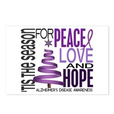 Christmas 1 Alzheimer's Disease Postcards (Package