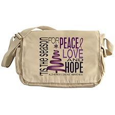 Christmas 1 Alzheimer's Disease Messenger Bag