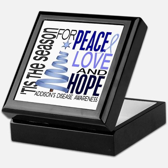 Christmas 1 Addison's Disease Keepsake Box