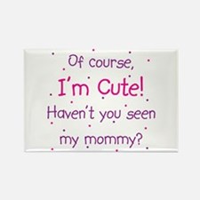 Cute Like Mommy Rectangle Magnet