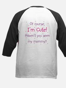 Cute Like Mommy (back) Tee