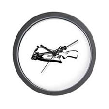 Crossbow Wall Clock