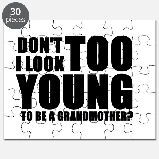 Too young to be a grandmother Puzzle