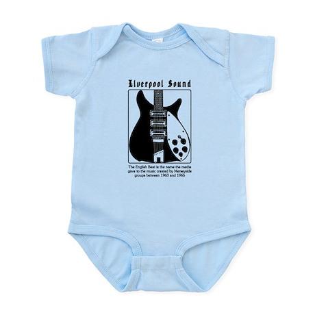 BEATLEGUITAR1 Infant Bodysuit