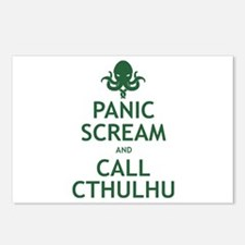 Panic Scream and Call Cthulhu Postcards (Package o