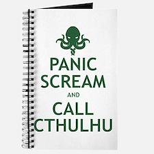 Panic Scream and Call Cthulhu Journal