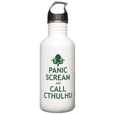 Panic Scream and Call Cthulhu Water Bottle