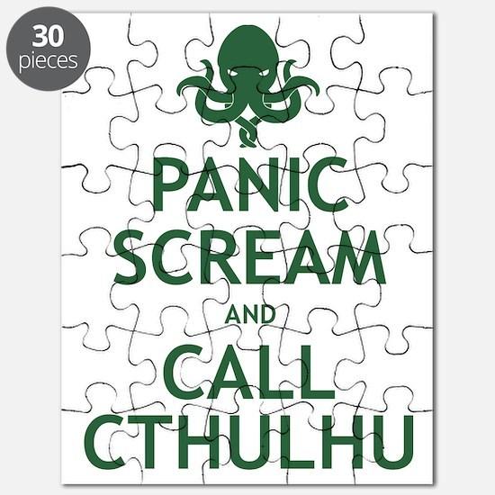 Panic Scream and Call Cthulhu Puzzle