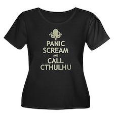 Panic Scream and Call Cthulhu T