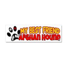 Afghan Hound Car Magnet 10 x 3