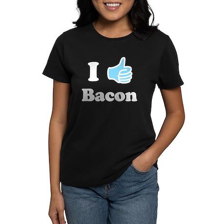 I Like Bacon Women's Dark T-Shirt