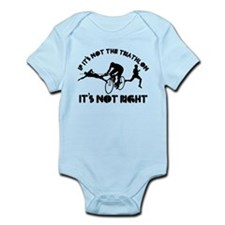 If it's not triathlon it's not right Infant Bodysu